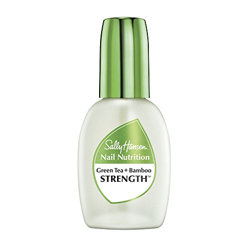 (Sally Hansen Nail Nutrition Green Tea + Bamboo Strengthener, 0.45 Fluid Ounce)