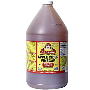 Amazon.com : Organic Raw Apple Cider Vinegar Unfiltered