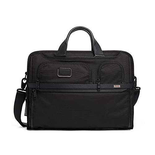 ct Large Screen Laptop Brief Briefcase - 17 Inch Computer Bag for Men and Women - Black ()
