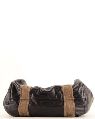 Franck Damen Tasche bequem Epaule-Gallantry-Farbe schwarz, TU