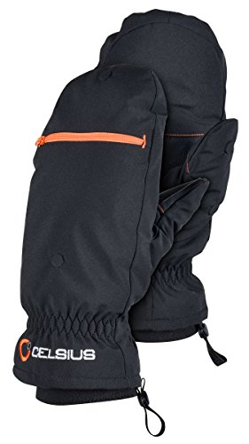 Celsius Insulated Durable CEL-IFM-LG Flip Mitts Large/X-Large/Fleece Lined
