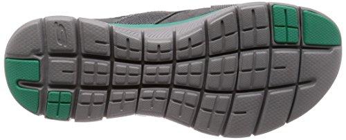 Niedrige New 0 Sneakers Flex Frauen B M US Skechers Image 2 Weiß Schwarz Türkis Appeal Grau wgHna0