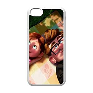 iPhone 5c Cell Phone Case White Up disney 006 Inebd