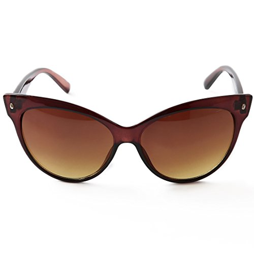 Pession Women's High Pointed Vintage Mod Womens Fashion Cat Eye - Glasses Sale For Vintage Cat Eye