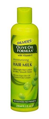 Aceite de oliva de la Palmer fórmula con Vitamina E Hidratante pelo leche 250 ml/8,5 oz: Amazon.es: Belleza