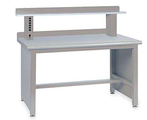 Lista International XSTB11-60PT/LG-IRS Technical Workbench, Includes Riser Shelf, 60