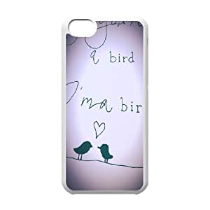 Bird Customized Cover Case for Iphone 5C,custom phone case ygtg566923