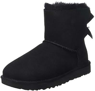 Amazon.com | UGG Women's Mini Bailey Bow II Winter Boot