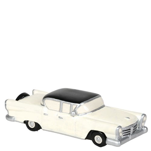 Department 56 Original Snow Village Family Sedan Collectible Figurine. (Department 56 Christmas In The City Display Ideas)