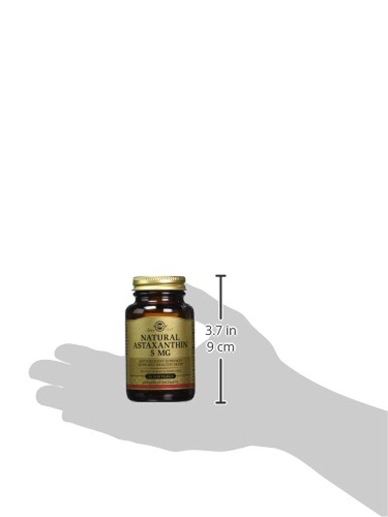 Solgar, Astaxanthin 5 mg, 60 Softgels