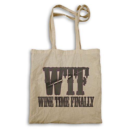 Weinzeit Endlich Tragetasche r904r