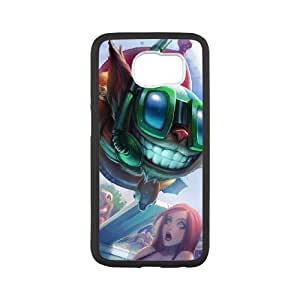 Samsung Galaxy S6 Phone Case Cover White League of Legends Pool Party Ziggs EUA15990045 Plastic Phone Case Active