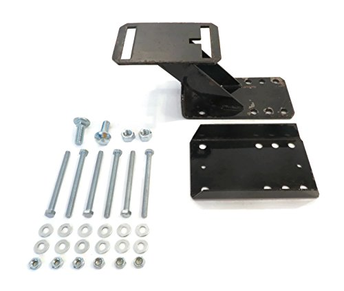 The ROP Shop New SPARE TIRE WHEEL CARRIER KIT with HARDWARE Heavy Duty for Trailer 6 & 8 (Lugs Hardware)