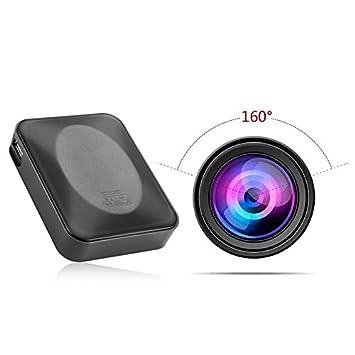 MNHOME cámara Oculta de 1000 mAh portátil con detección de ...