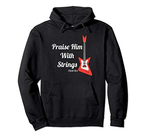 Christian Catholic Bible Verse Psalms 150:4 And 45:8 Worship Pullover Hoodie