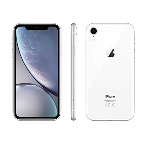 Apple iPhone XR, 64GB, White - For AT&T / T-Mobile (Renewed)
