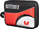 Butterfly Lojal DX Case   Durable Material with Padded Front and Back Panels   Hold Two Paddles   4 Colors Available (Red, Sky, Black, Pink)
