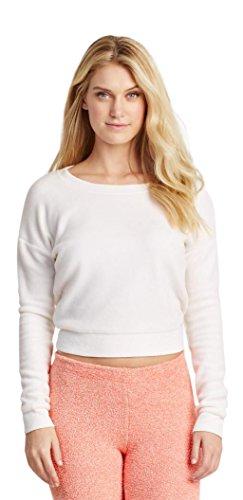 Aeropostale Womens Fuzzy Fleece Sweatshirt