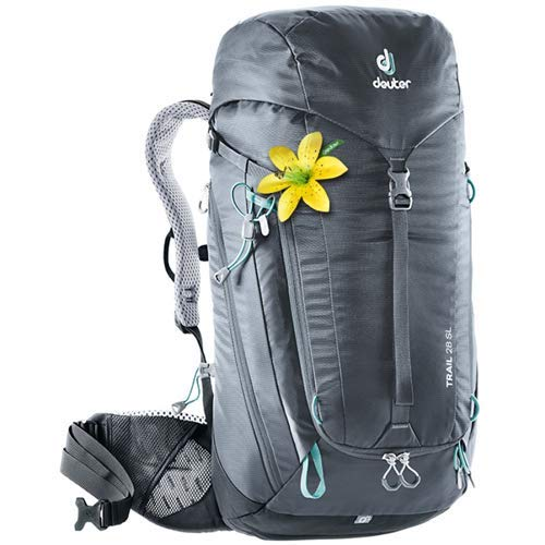 - Deuter Trail 28 SL Backpacking Backpack, Graphite/Black