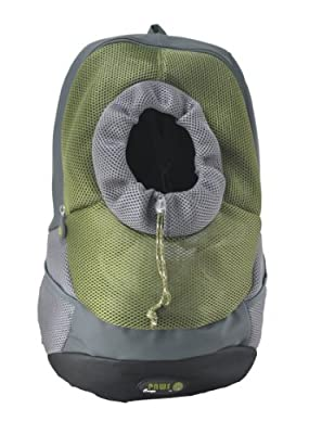 Wacky Paws Pet Backpack, Small, Olive from Wacky Paws