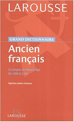 Amazon.com: Dictionnaire de l\'Ancien Français (French Edition ...
