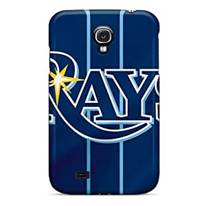 Bumper Cell-phone Hard Covers For Samsung Galaxy S4 (xnP8375Kjui) Provide Private Custom Lifelike Tampa Bay Rays Series