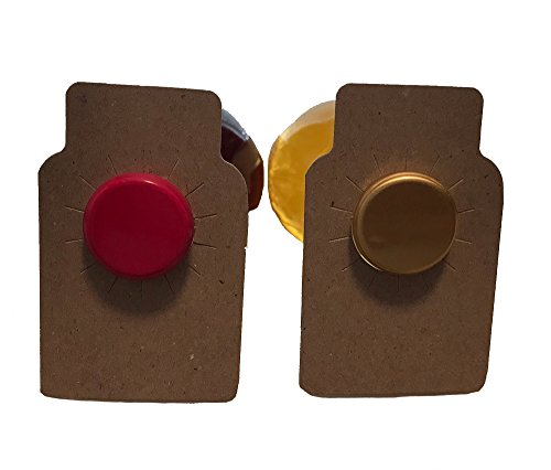 110 Wine bottle tags brown chi