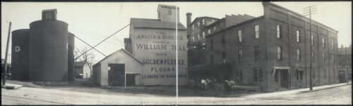 c1908 Panorama of the Ansted & Burk Mills, Springfield, O. 24