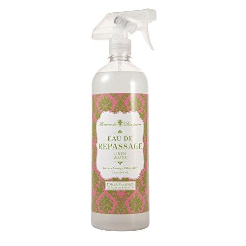 Florence de Dampierre Fabric Fresh Linen & Ironing Water Spray, 32oz - Rosemary