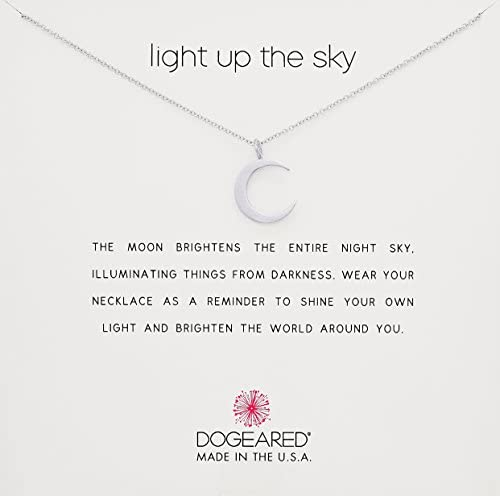 Dogeared Reminder Light Crescent Necklace product image