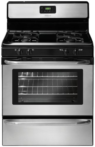"Frigidaire FFGF3047LS 30"" Wide Freestanding Gas Range with Sealed Burners in Stainless Steel"