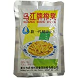 WuJiang, Preserved Mustard Stems Shredded (Zha Cai) - 2.46oz (10 Packs)