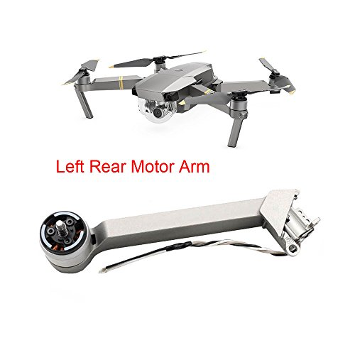 quietJUNjun toy FPV Drone, Body Frame Kit Left Rear Motor Arm Repair Parts for DJI Mavic Pro Drone (B) by quietJUNjun toy (Image #2)