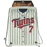 MLB Minnesota Twins Joe Mauer Drawstring Backpack