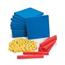 Base Ten Counting Blocks - School Learning Aides - 130 per Pack