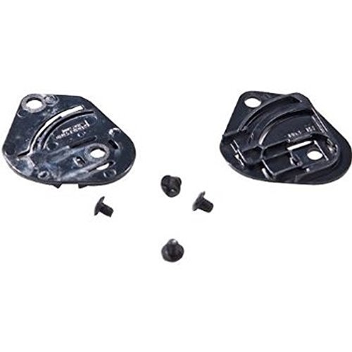 HJC HJ-12 Gear Plate Set for FS-3 Helmet - Black by HJC Helmets