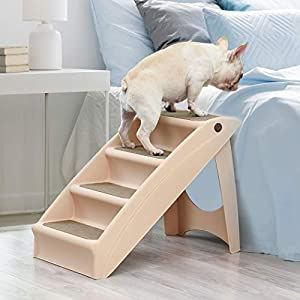 PaWz Pet Stairs Ramp Steps Portable Foldable Climbing Ladder Soft Washable Dog Click on image for further info.