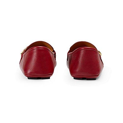 aa67fa56c8ccd8 Amazon.com  Gucci Men s Noel Leather Web Loafer