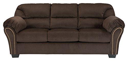 Signature Design by Ashley 3340136 Kinlock Sofa Sleeper, Full, Chocolate (Brown Full Sofa Sleeper)