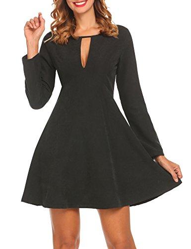 holiday black cocktail dresses - 8