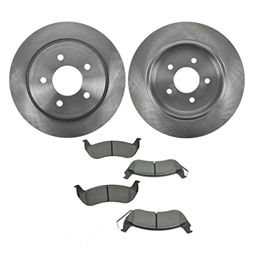 Rear Disc Brake Pad & Rotor Kit Set for Ford Crown Victoria