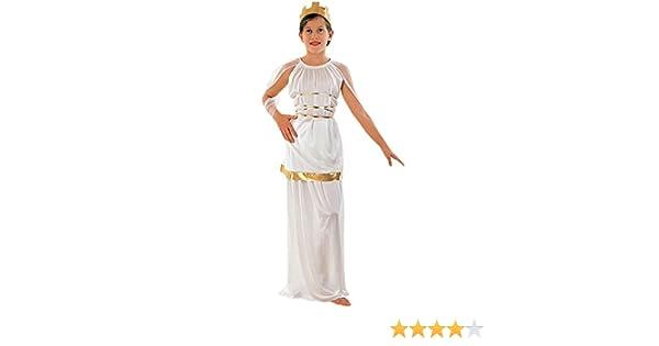 Fyasa 850520-C02 - Disfraz de atenea para niños de 7 a 9 años ...