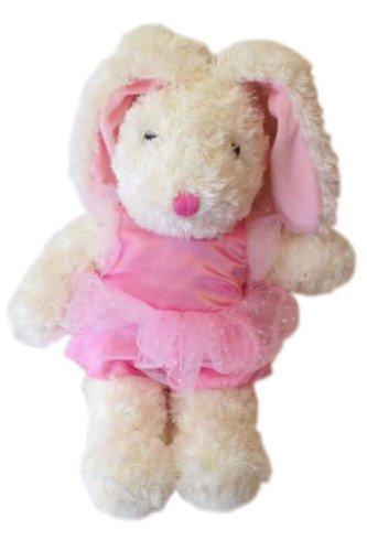 Easter Pink Ballerina Bunny Plush-21