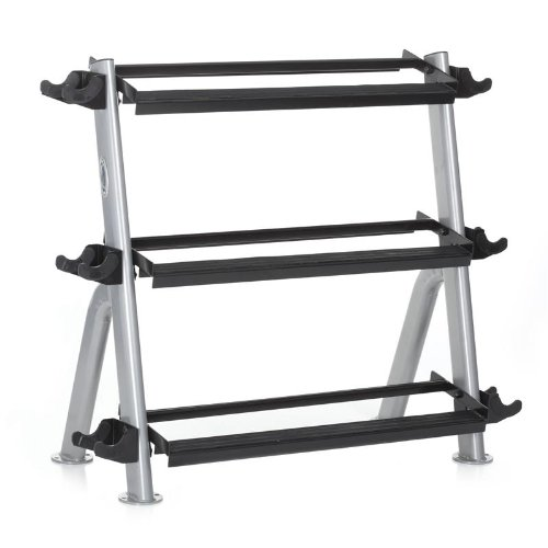 Hampton 3-Tier Horizontal-Vertical Dumbbell Rack by Ironcompany.com