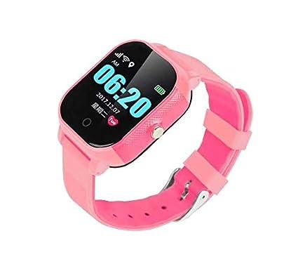 Reloj Inteligente para niños con rastreador GPS y teléfono GPS. Tarjeta SIM Gratuita | F
