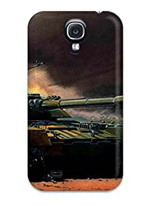 Durable Protector Case Cover With Tank Military Man Made Military Hot Design For Galaxy S4