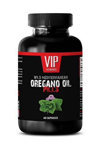 Wild mediterranean oregano oil - Wild Mediterranean Oregano Oil 1500mg - Bacterial killer - 1 Bottle 60 Capsules