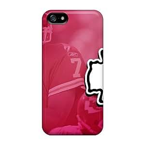 RareCases Premium Protective Hard Case For Iphone 5/5s- Nice Design - Kansas City Chiefs
