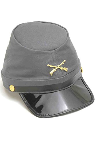 Forum Novelties Civil War Union Kepi Hat, Navy / Black / Gold, One Size -  Forum Novelties Inc, 62328