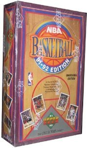 (91-92 Upper Deck Basketball Brand New Factory Sealed Box Inaugural Edition)